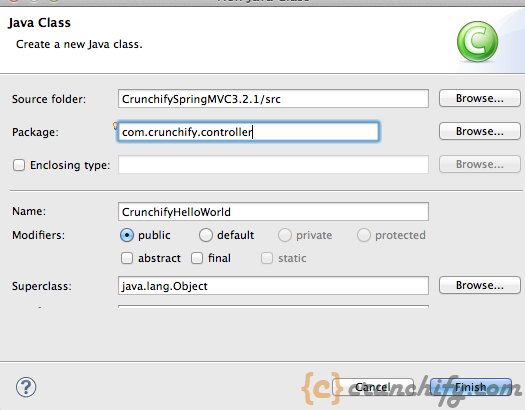 Create-Spring-MVC-Controller