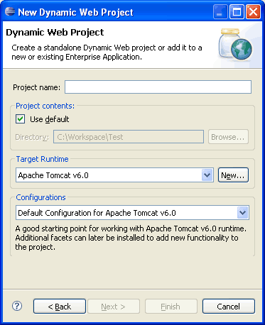 eclipse-dynamic-web-project